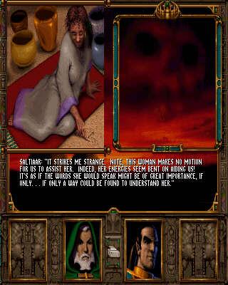 CrimsonRain.Com Ravenloft Stone Prophet  魔域傳奇:石之預言者